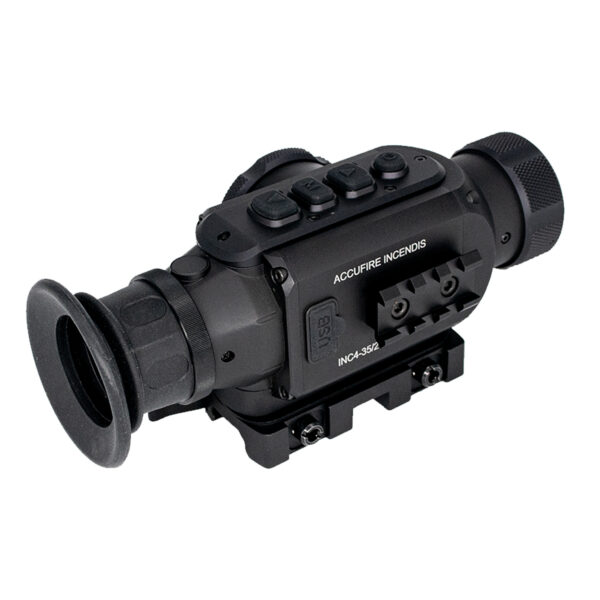 Thermal scope clip on